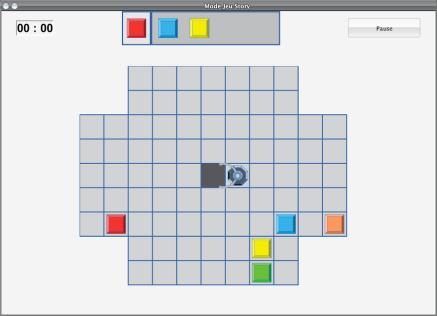Interface Rainbow Robot