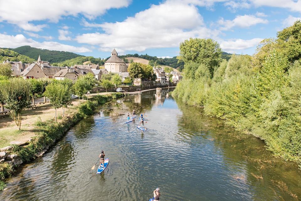 Un concept de paddle et canoe en Aveyron
