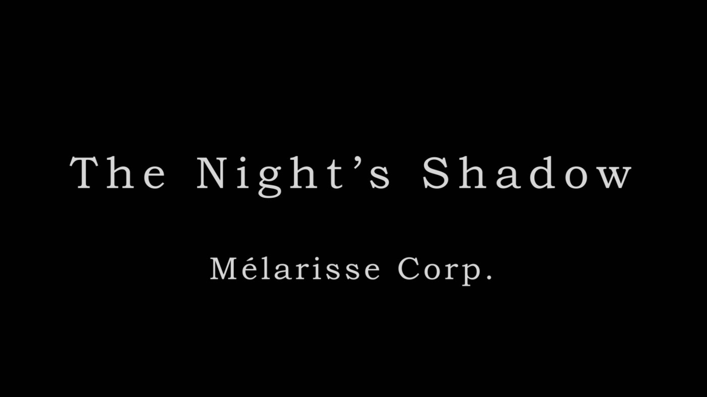 THE NIGHT'S SHADOW Mélanie Chambas et Clarisse Forestier